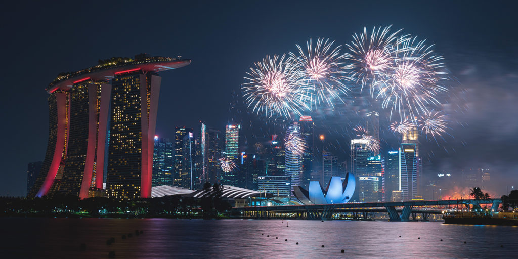 Fireworks Sound Effects - F1 GP Singapore