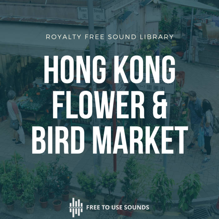 Hong Kong Market Sound Effects